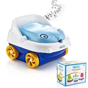توالت فرنگی آموزشی موزیکال طرح ماشین بی بی جم «babyjem»