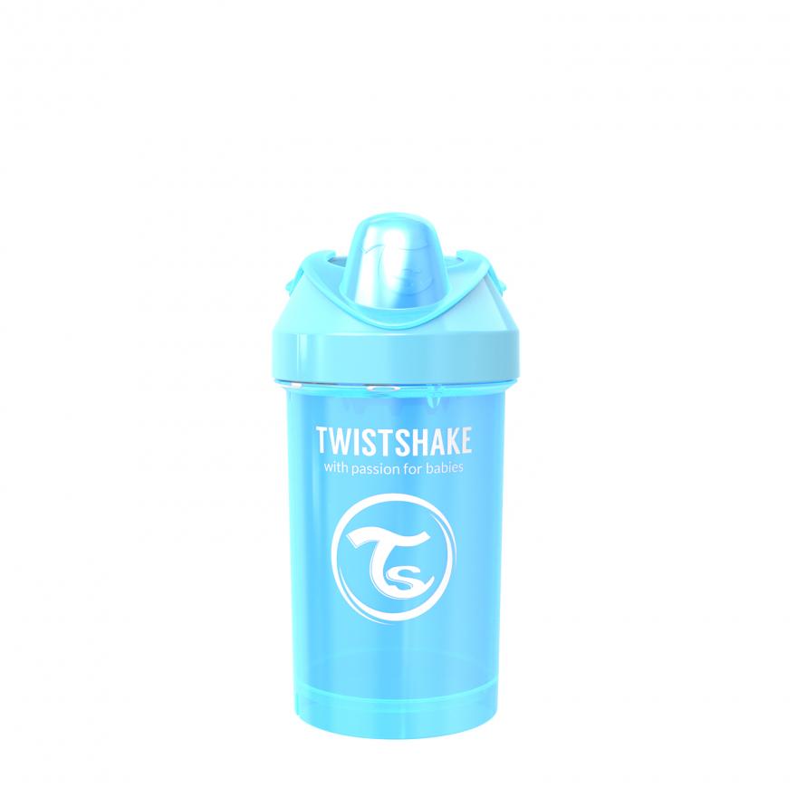 لیوان آبمیوه خوری 300 میل آبی صدفی تویست شیک Twistshake