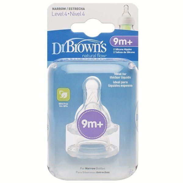 سرشیشه دکتر بروان +9 ماهگی مناسب شیشه معمولی«Dr Browns»