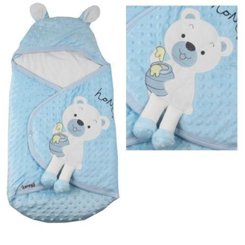 قنداق نوزاد طرح خرس آبی ب ب سیکس «bebecix» |