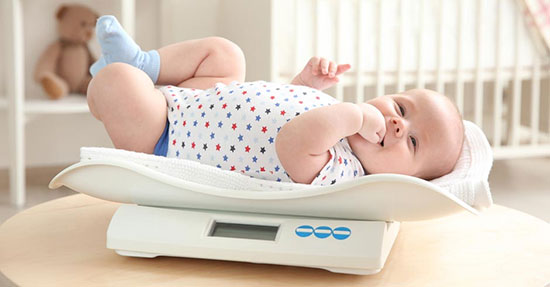 قد و وزن نوزاد