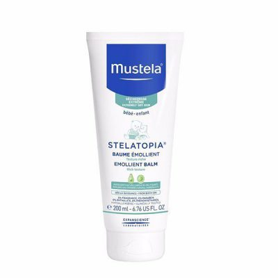 بالم مرطوب کننده پوست کودک استلاتوپیا موستلا«Mustela»