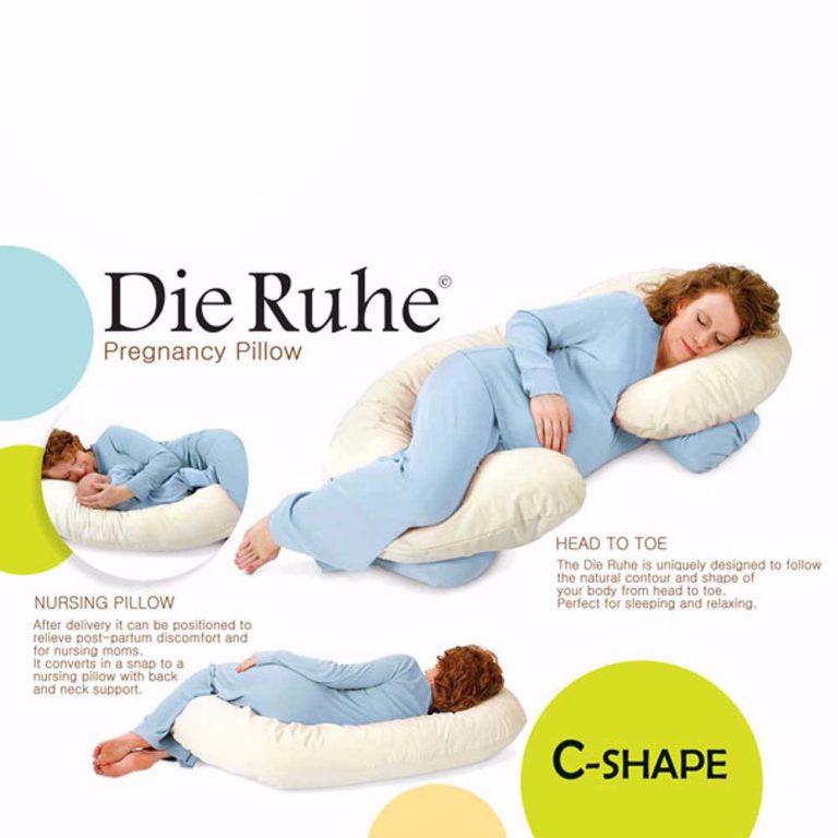 بالش بارداری C شکل دی روحه «shapC «DieRuhe
