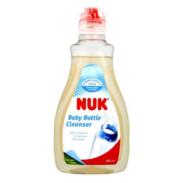 مایع استریل و ضد عفونی کننده شیشه شیر و پستانک ناک Nuk