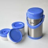 فلاسک غذای کودک اسپرینگ Spring رنگ آبی