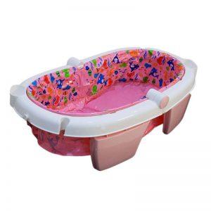 وان حمام کودک رنگ صورتی suwan baby