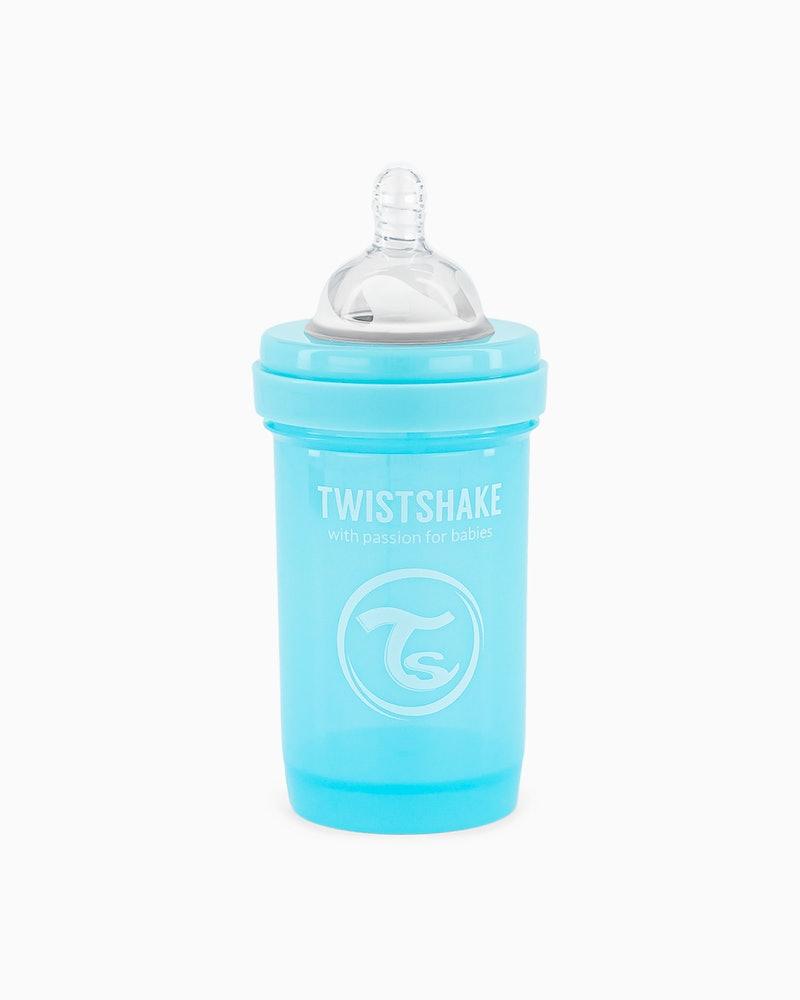 شیشه شیر 180 میل آبی صدفی تویست شیک Twistshake