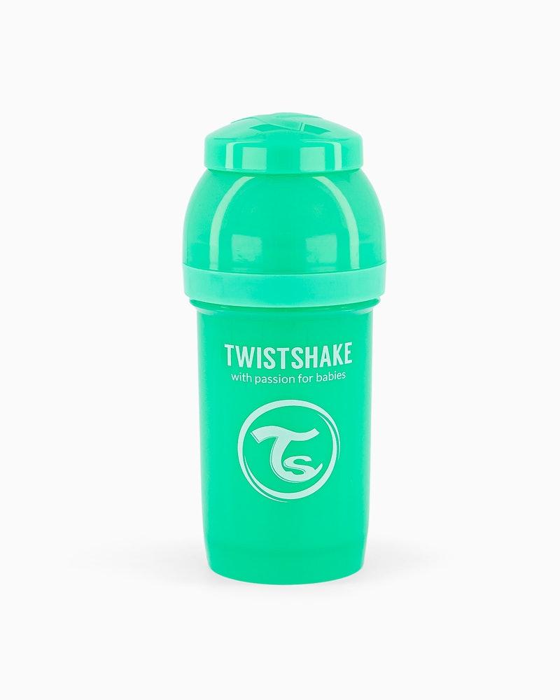 شیشه شیر 180 میل پاستل سبز تویست شیک Twistshake