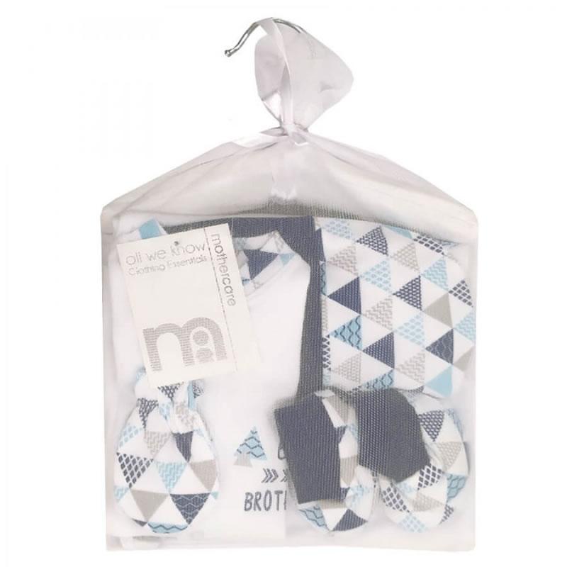 ست لباس بیمارستانی نوزادی 7 تکه طرح مثلث مادرکر Mothercare