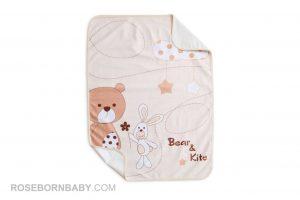 زیر انداز تعویض نوزاد رزبرن مدل BEAR & KITE