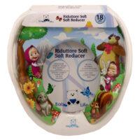 تبدیل توالت فرنگی کودک Baby 4 life طرح ماشا و خرس