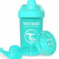 لیوان آموزشی 300 میل سبزآبی تویست شیک Twistshake